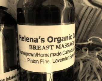 Breast Massage Oil - Healing