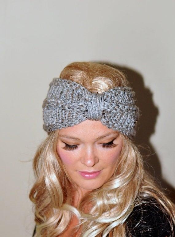 Headband Head Wrap Knitting Pattern : Items similar to Turban Headband Crochet Head wrap Knit ...