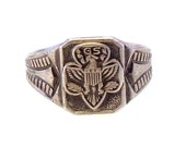 Vintage Sterling Silver Girl Scouts Ring