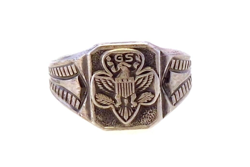 Vintage Girl Scout Ring eBay