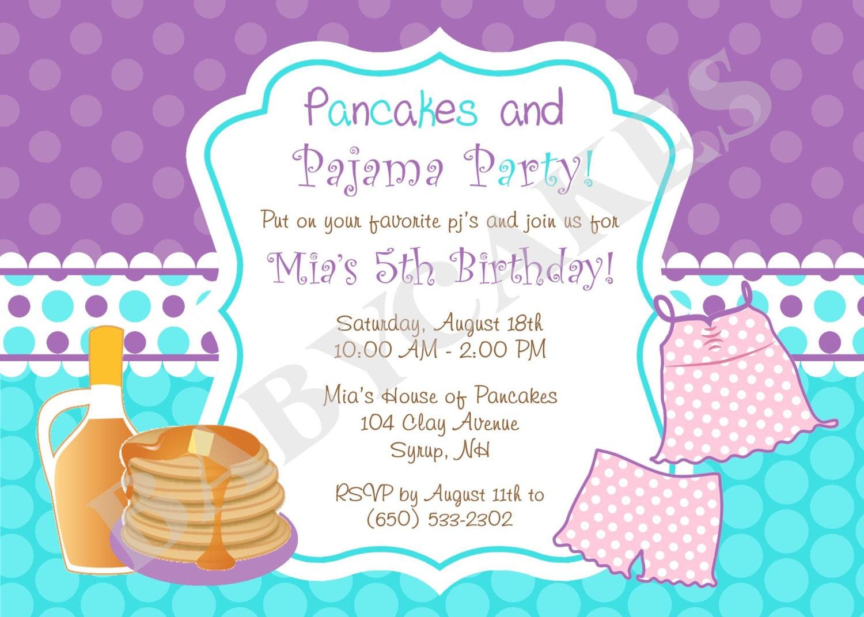 Pancake Pajamas With Print