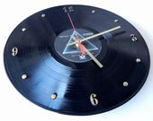 PINK FLOYD Vinyl Record Wall Clock (The Dark Side Of The Moon)