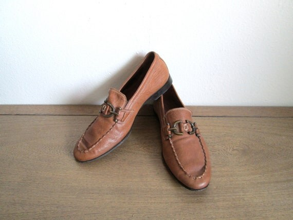 Donald J Pliner Men's Leather Loafers Made in Italy, Size 7 1/2M