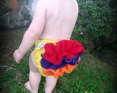 Add Ruffles to your cloth diaper