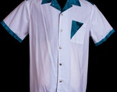 Accent Caledonian White limited-edition ultra-high quality button-down men's shirt