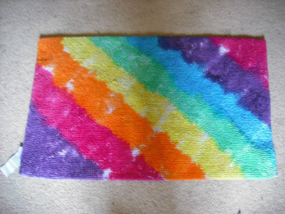 Tie Dye Rug By Doyoudreamoutloud On Etsy