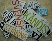 31 Swedish words magnets