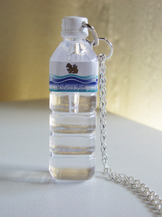 Crazy Stuff Plastic Water Bottle Necklace