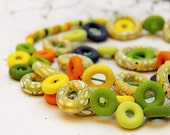 Colorful Necklace of Fimo
