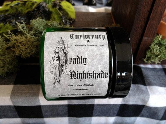 Deadly Nightshade Tomato Leaf Green Pepper Earth Luscious Cream