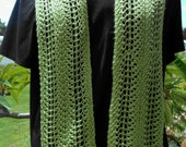 PDF Download Knit Pattern for the Light and Breezy Lace Scarf