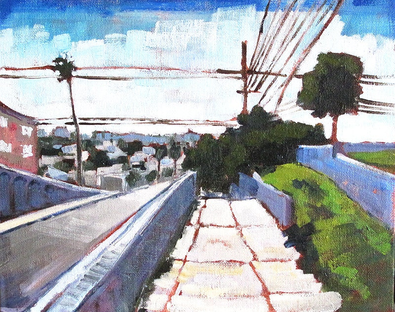 Painting of San Diego- North Park