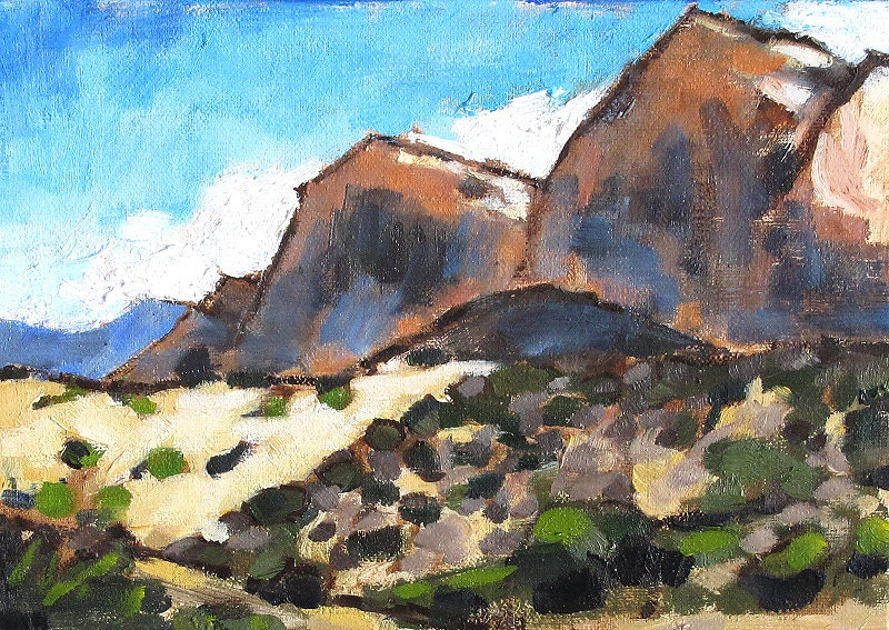 Red Rock Canyon Painting, Las Vegas, Nevada
