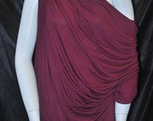 Micro Bamboo Spandex Jersey Knit Ecofriendly High End Fabric Merlot 9 oz