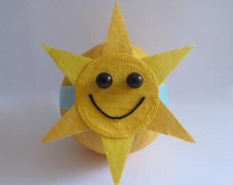 Favor Size Surprise Ball- Sunshine