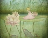 Thumbelina - Art print (3 different sizes)