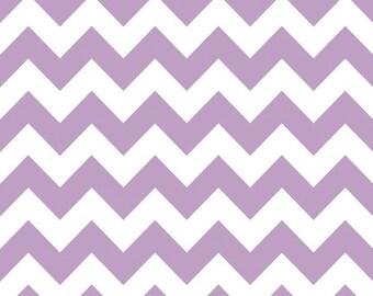 Riley Blake Chevron - Lavender - Medium BTY