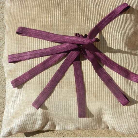 Dark Purple Runner's Elastic Hair Tie Headband