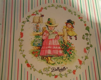 DOLLY DOLLY Miniature notebook.80s