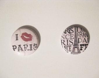 Paris Themed Magnet