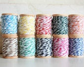 Bakers Twine Each On Wooden Spool