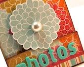 TP Scrapbook Mini Album, Mini Photo Album, Grandma's Brag Book, Teacher Gifts