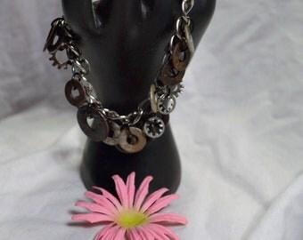 Upcycled Vintage Washer Bracelet