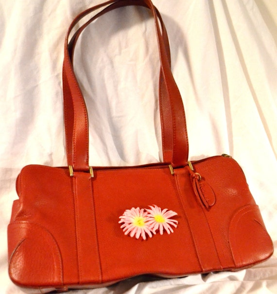 Rolfs Vintage Red Leather Purse