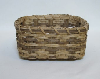 Napkin Basket-Fruit Basket-Bread Basket-Handwoven Basket-Square Basket