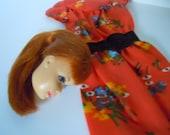 Stacy Head Barbie Best Buy #9573 Floral Dress