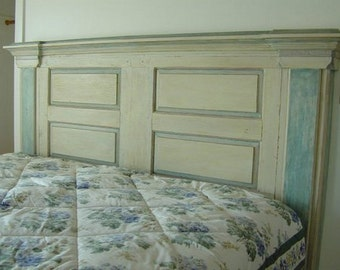 H6 Handmade Wooden Headboard from Architectural Pieces