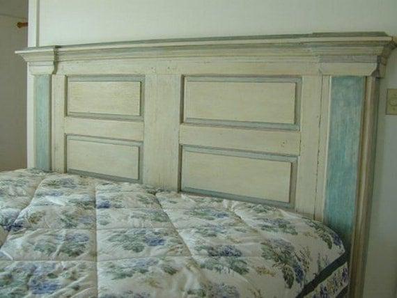 Enclosed Bed Google Search: H6 Handmade Wooden Headboard From Architectural Pieces