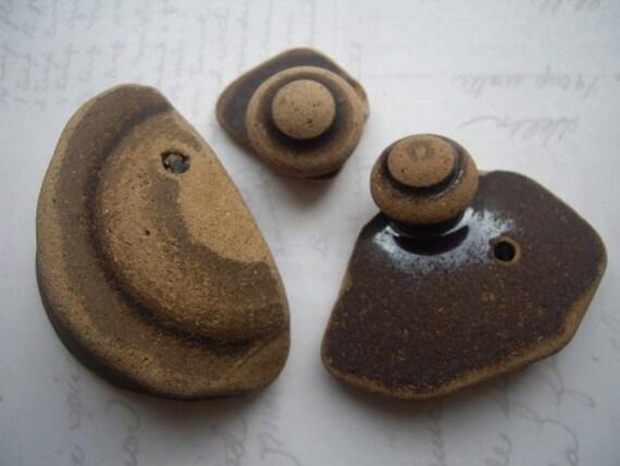 Seashore Scottish Brown Ceramic Lids SP860