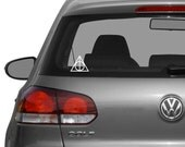 Unofficial Deathly Hallows Decal