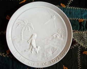 Frankoma Plate...The Gift of Love