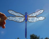 Stained Glass Dragonfly Suncatcher No.134
