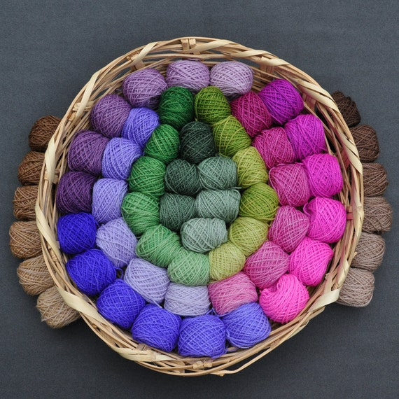 Gradations of Woodland and Garden - 60 Color Yarn Design Set