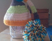 Winter hat, Elf hat and Li'l Jackie newsboy hat Reserved for Lacey