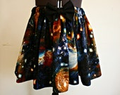 Galaxy Outer Space Skirt Small Medium