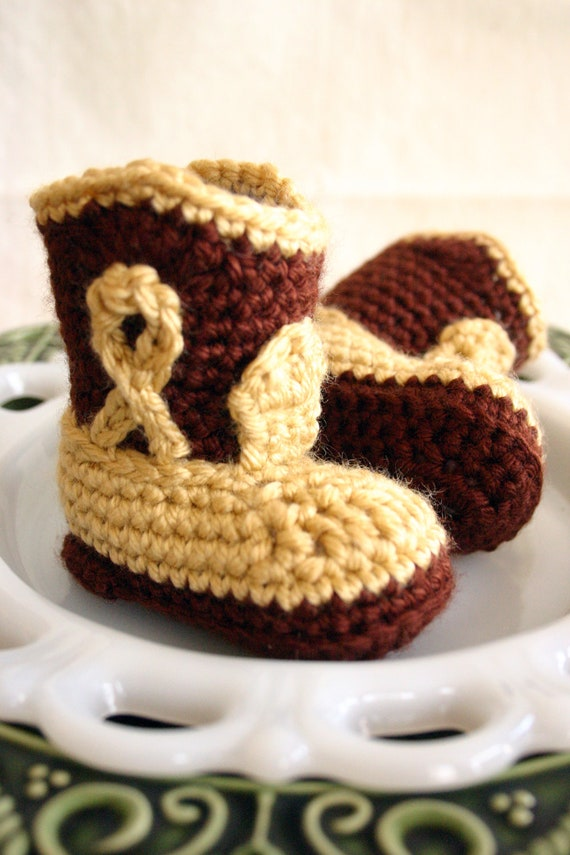 Custom Listing for phylliswelch66  Infant Baby Cowboy Boot Booties Crib Shoes Baby Shower Gift