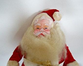Vintage/ Santa/ Claus/ Doll 1970 Harold Gale/ Home Decor/ New Orleans Vintage Shop Holiday Retro Vintage