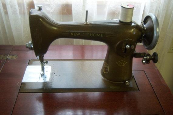 New Home Light Running Sewing Machine Type F