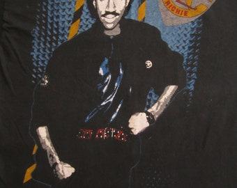 Original LIONEL RICHIE vintage 1980s tour TSHIRT