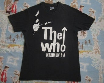 Original THE WHO 1989 tour vintage SHIRT