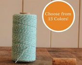 25 Yards Bakers Twine - 13 colors to choose from