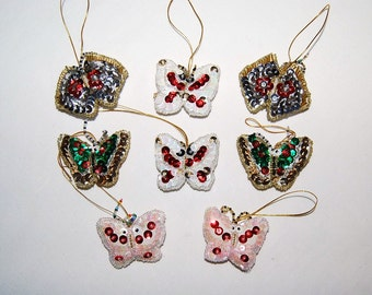 Ornaments Vintage Sparkle Glitz