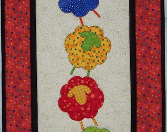 Sheep Tricks Table Runner/Wall Hanging Quilt Pattern