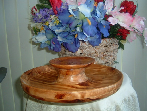curved Wood  Tray