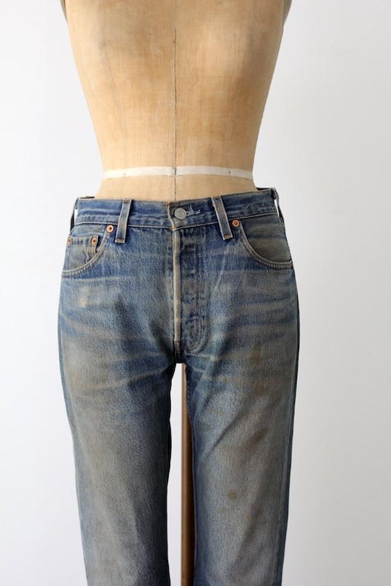 Levis 501xx // Vintage Levis Denim Jeans // W 30