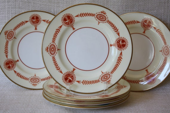 Vintage Wedgwood Plate Set of 6 Made in England